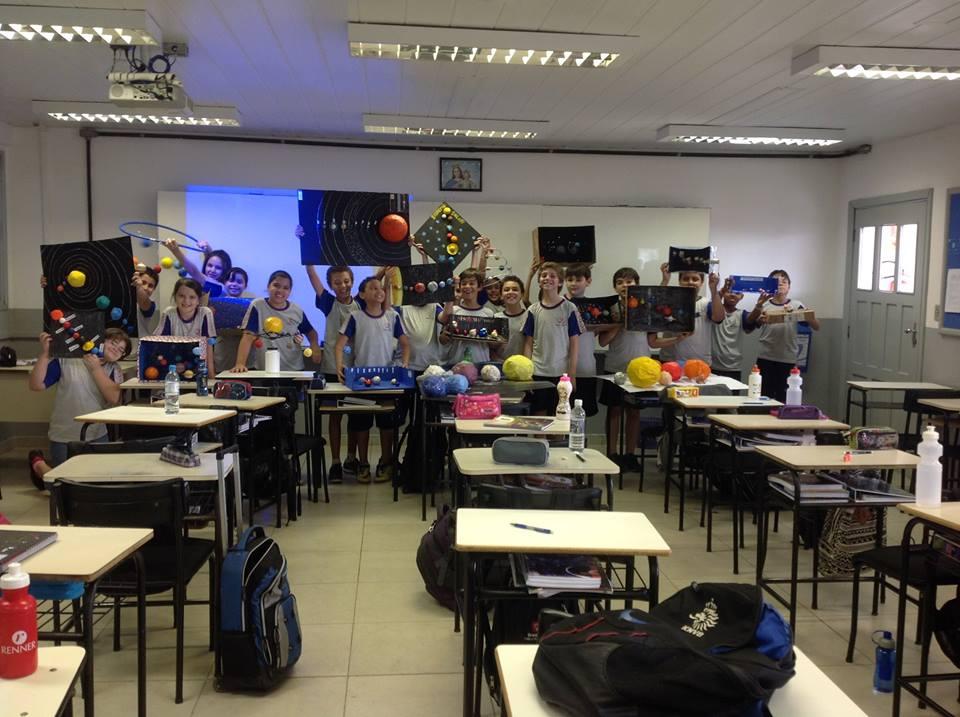 6º Ano D e o sistema solar na aula
