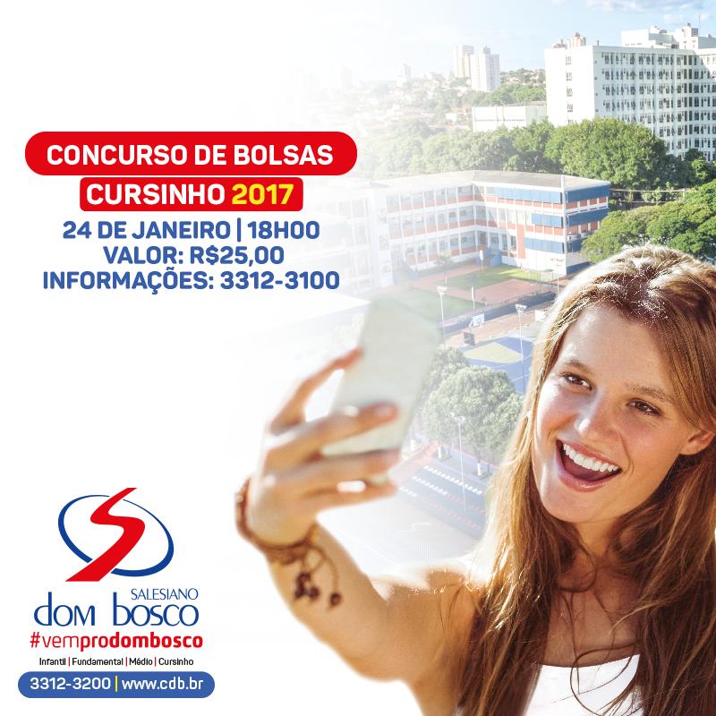 Concurso de Bolsas do Cursinho Dom Bosco