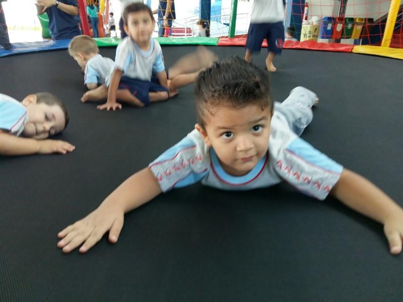 A primeira semana da Educação Infantil foi uma festa