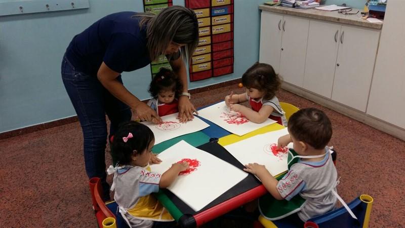 Cores e sensações na Educação Infantil