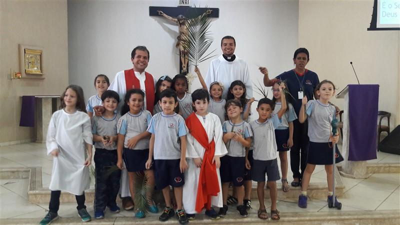 """Encenação de """"Domingo de Ramos"""""""