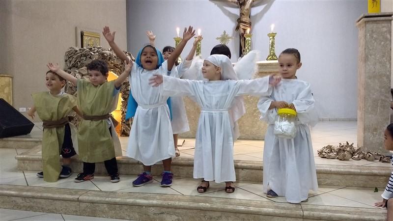 Celebração de Páscoa da Educação Infantil